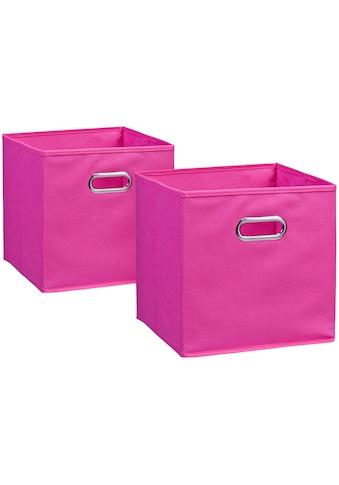 Zeller Present Aufbewahrungsbox, (Set, 2 St.), 28 x 28 cm kaufen