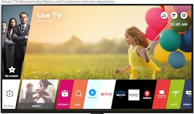 """LG OLED-Fernseher »OLED55G19LA«, 139 cm/55 """", 4K Ultra HD, Smart-TV, (bis zu 120Hz)-α9... kaufen"""