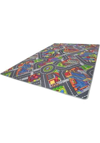Kinderteppich, »Big City«, Andiamo, rechteckig, Höhe 7 mm, maschinell getuftet kaufen
