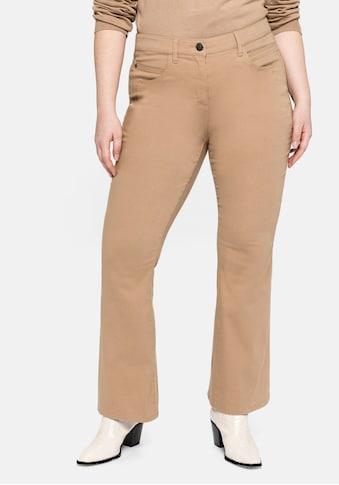 Sheego Bootcuthose, mit Ziernähten an den Gesässtaschen kaufen