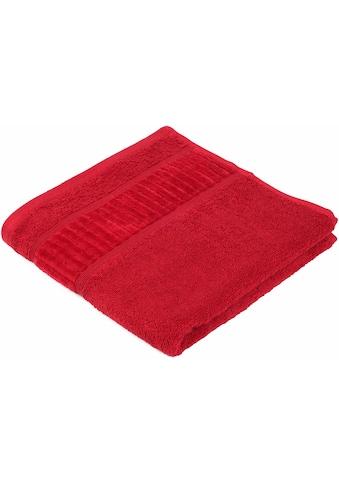 Gözze Handtücher »Uni«, (2 St.), GOTS zertifiziert - nachhaltig aus Bio-Baumwolle kaufen