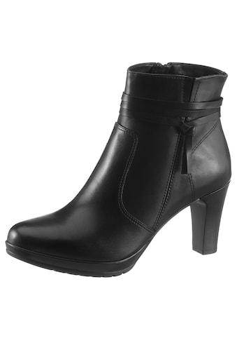 Tamaris Stiefelette »Carmen«, mit feinem Lederband kaufen