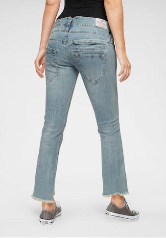 Herrlicher 7/8-Jeans »PITCH CROPPED«, mit ausgefranstem Saumabschluss kaufen