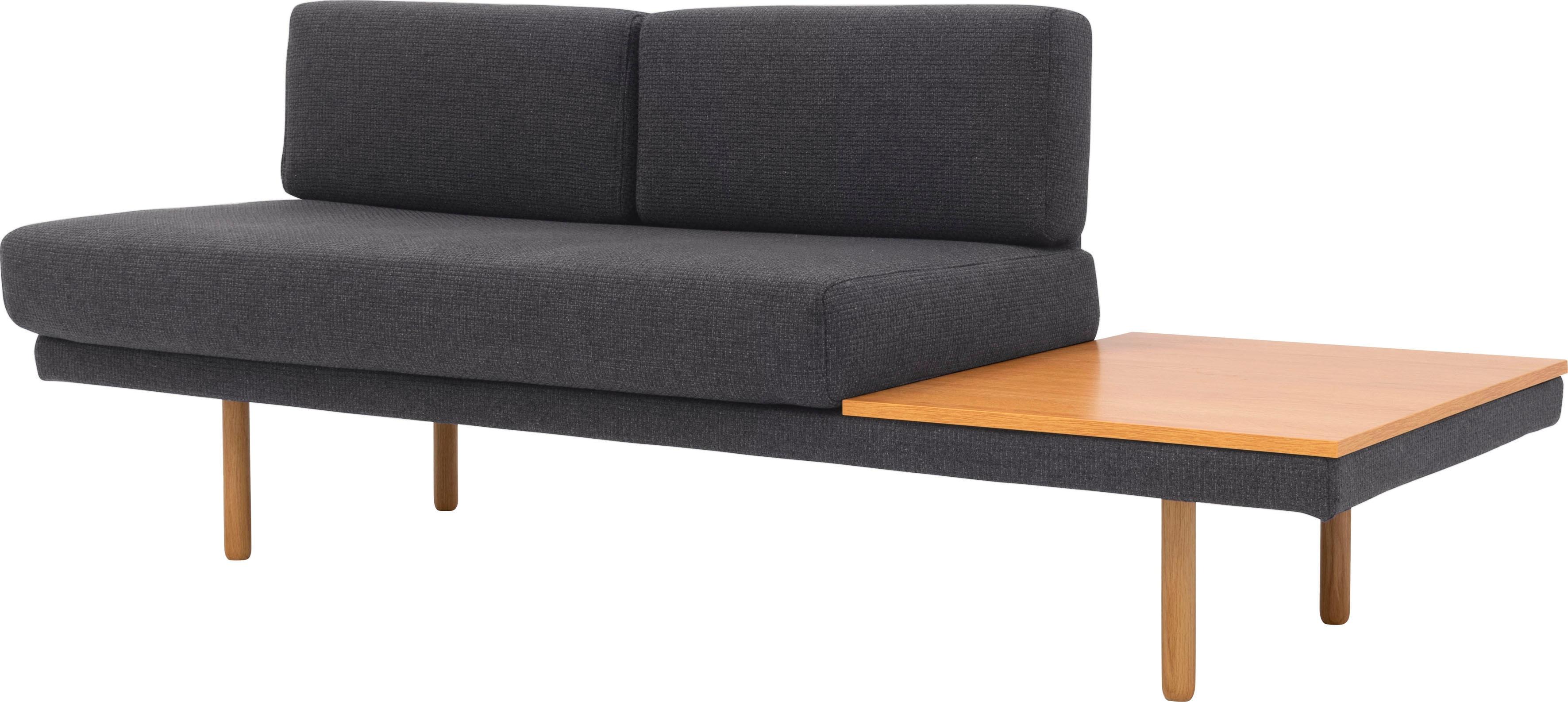 Image of 170QM Sofa »Pausenzeit«, Modernes Daybed, Ablage und Rücken rechts oder links montierbar