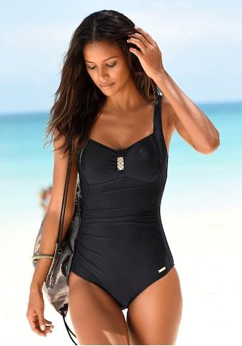LASCANA Badeanzug, mit Pailletten kaufen