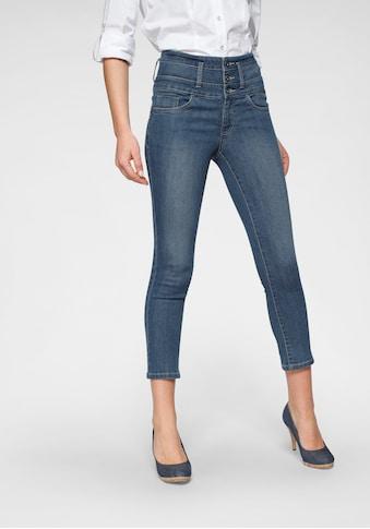 Arizona 7/8 - Jeans »mit extra breitem Bund« kaufen