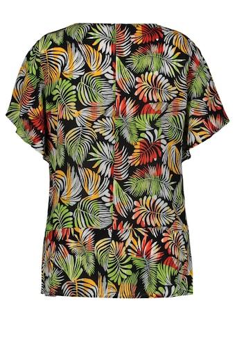 Samoon Klassische Bluse »Bluse mit Volants« kaufen