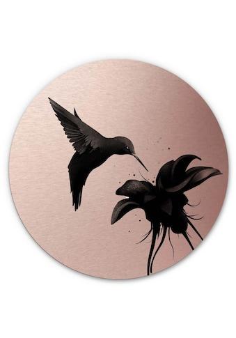 Wall-Art Metallbild »3D Kolibri Metallschild Vogel«, (1 St.) kaufen