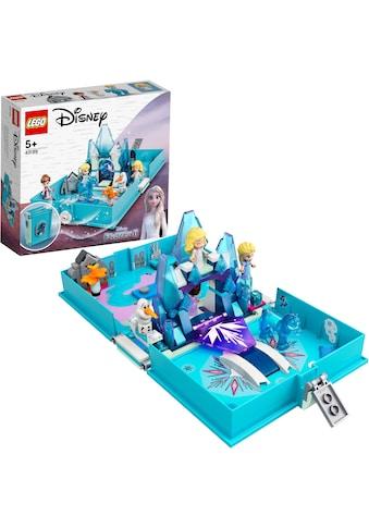LEGO® Konstruktionsspielsteine »Elsas Märchenbuch (43189), LEGO® Disney Frozen«, (125... kaufen