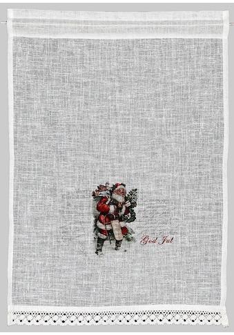HOSSNER - ART OF HOME DECO Scheibengardine »Santa«, Landhaus-Look kaufen