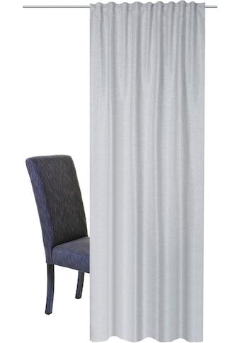 HOME WOHNIDEEN Vorhang »JOHN«, HxB: 245x140, Kombibandschal Verdunklungsstoff kaufen