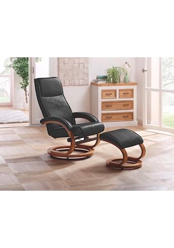 Home affaire Relaxsessel »Paris« (2 - tlg., bestehend aus Sessel und Hocker) kaufen