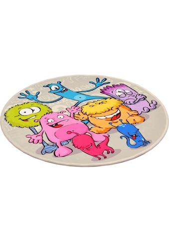 Kinderteppich, »Lovely Kids 417«, Böing Carpet, rund, Höhe 6 mm, gedruckt kaufen