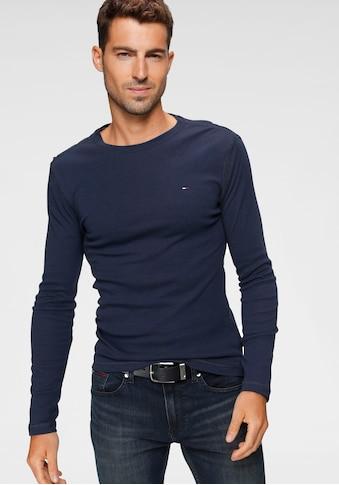 TOMMY JEANS Langarmshirt »TJM ORIGINAL RIB LONGSLEEVE TEE« kaufen