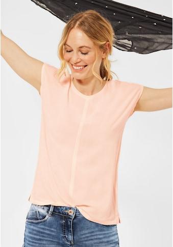 Cecil T-Shirt, mit leichten Raffungen an den Seiten kaufen