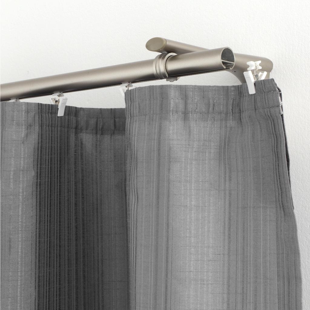 GARDINIA Klick-Gleiter »X-Gleiter mit Klammer«, (20 St.), Serie Flächenvorhang Technik Atlanta
