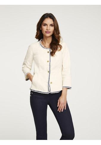 Jeansjacke mit Fransen kaufen