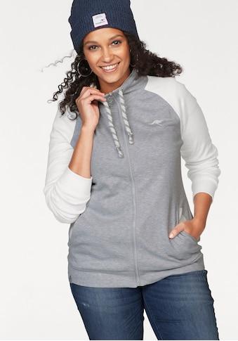 KangaROOS Shirtjacke, mit dicker Kordel am Stehkragen kaufen