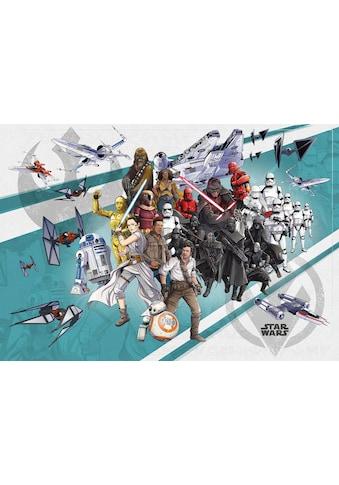 KOMAR Packung: Fototapete »Star Wars Cartoon Collage Wide«, aus Vlies kaufen