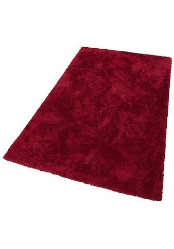 my home Hochflor-Teppich »Desner«, rechteckig, 38 mm Höhe, Besonders weich durch Microfaser, Wohnzimmer kaufen