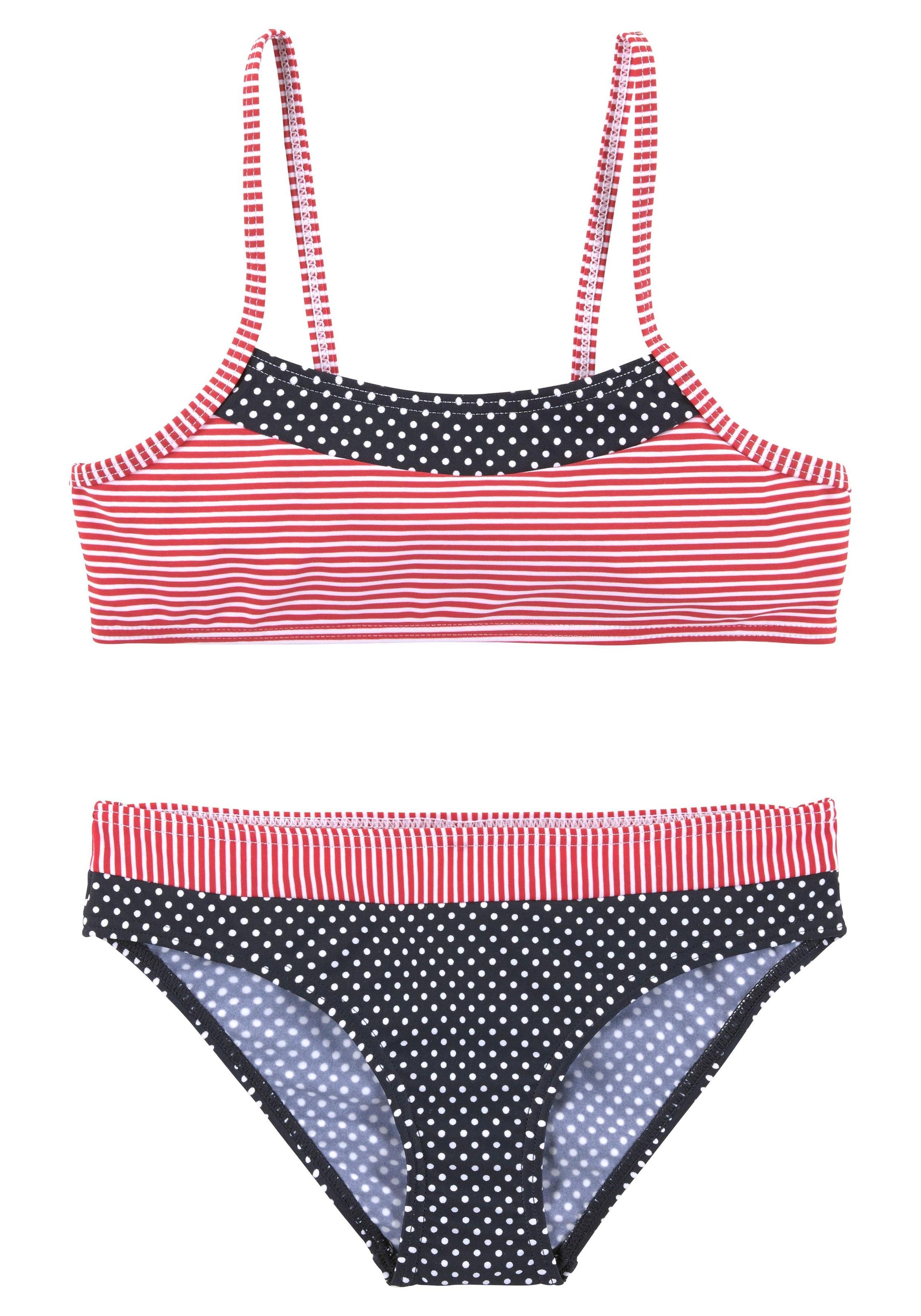 s.Oliver Beachwear Bustier Bikini