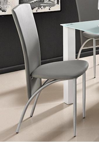 Esszimmerstuhl »Nico«, (2 Stück) Bezug in Kunstleder, Metallgestell kaufen