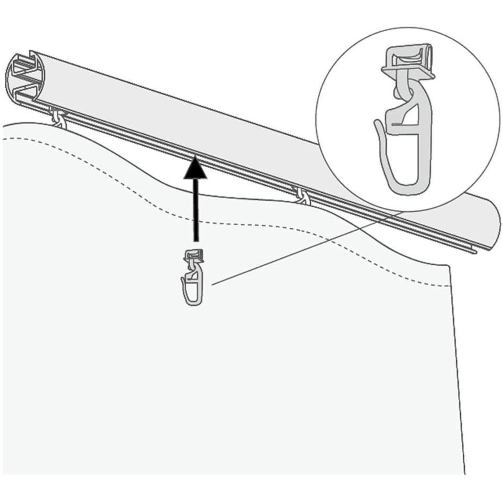 Good Life Klick-Gleiter »Alves«, (Packung, 20 St.), für Vorhangstangen mit breitem Lauf (6 mm)