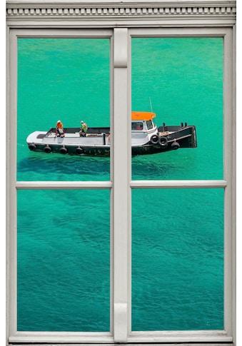 queence Wandsticker »Boot im Meer« kaufen