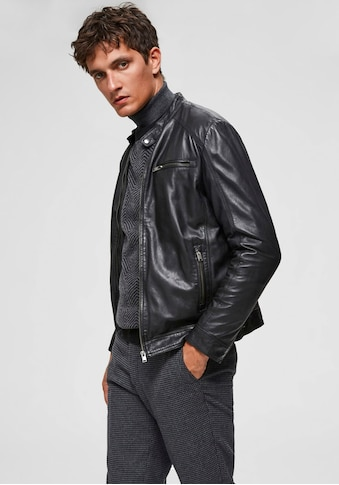 SELECTED HOMME Lederjacke »CLASSIC LEATHER JACKET« kaufen