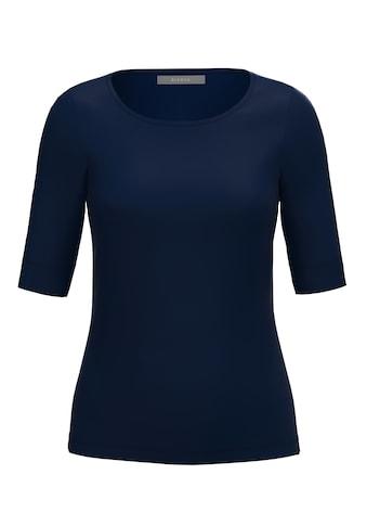 bianca Kurzarmshirt »DIELLA«, Basic-Shirt mit verlängertem Arm kaufen