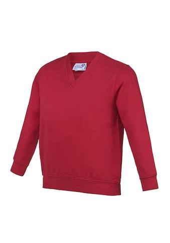 AWDIS V - Ausschnitt - Pullover »Academy Kinder Junior Schul Sweatshirt mit V - Ausschnitt (2 Stück/Packung)« kaufen