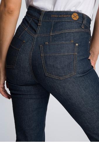 MAC High-waist-Jeans »Dream High Rise«, In der Taille extra-hoch geschitten kaufen