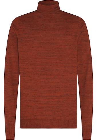 Calvin Klein Rollkragenpullover »HEATHER MOCK NECK« kaufen