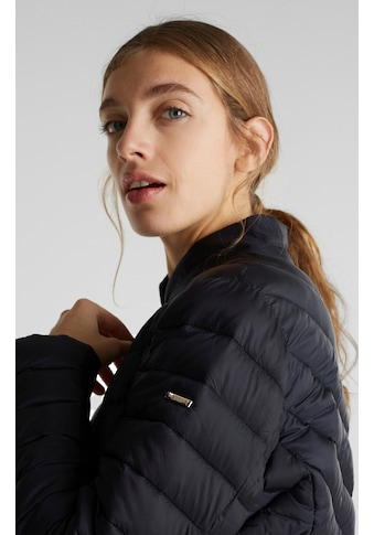 Esprit Collection Steppjacke, in cooler Rauten- und diagonaler Steppung kaufen
