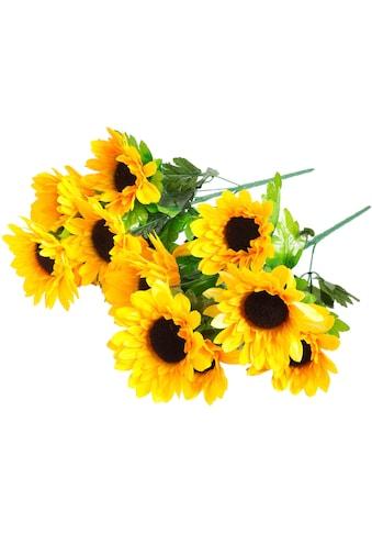 Botanic-Haus Kunstblume »Sonnenblumenbusch« kaufen