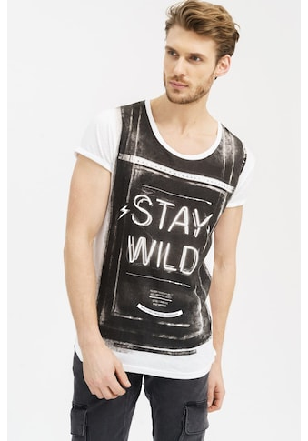 trueprodigy T-Shirt »The Wild Side«, mit grossem Frontdruck kaufen