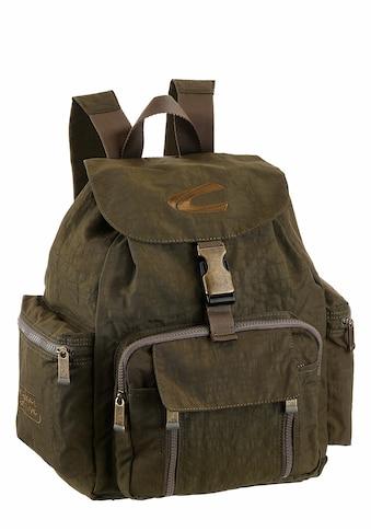 camel active Cityrucksack, mit gepolstertem Rücken und vielen Täschchen kaufen