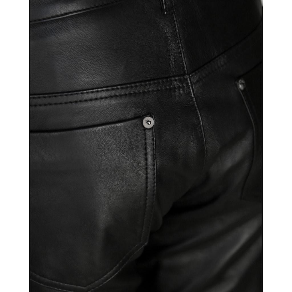 JCC 5-Pocket-Hose »31019444«, Lederhose 5-Pocket