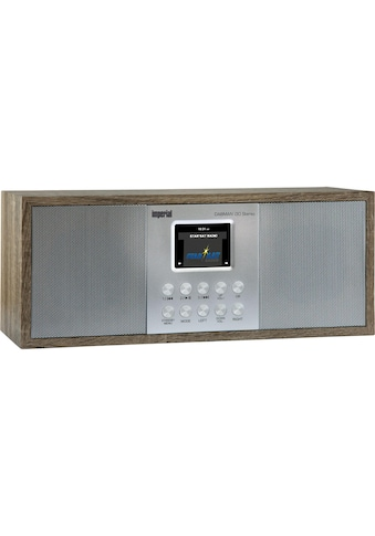 IMPERIAL Digitalradio (DAB+) »Dabman i30 Braun«, (Bluetooth-WLAN Digitalradio... kaufen
