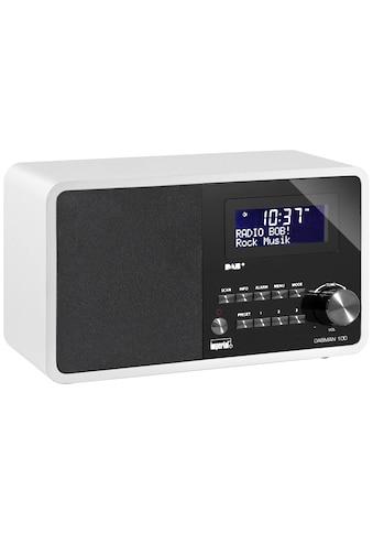 IMPERIAL Digitalradio (DAB+) »Dabman 100 Weiss«, (CD Digitalradio (DAB+)-FM-Tuner ) kaufen