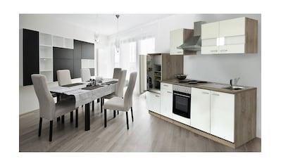 Küchenzeile, ohne E - Geräte, Gesamtbreite 280 cm kaufen