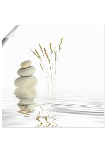 Artland Wandbild »Zen Friede«, Zen, (1 St.), in vielen Grössen & Produktarten -... kaufen