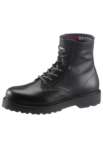 TOMMY JEANS Schnürstiefel »MENS LEATHER LACE UP BOOT« kaufen