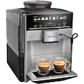 SIEMENS Kaffeevollautomat »S500 TE655503DE grau schwarz«
