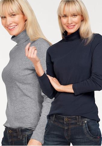 Flashlights Rollkragenshirt, aus Reiner Baumwolle kaufen