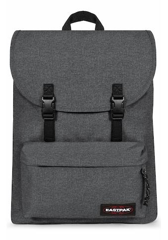 Eastpak Laptoprucksack »LONDON+, Black Denim«, enthält recyceltes Material (Global... kaufen