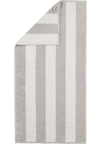 Cawö Badetuch »Zoom Blockstreifen«, (1 St.), mit breiten Streifen kaufen