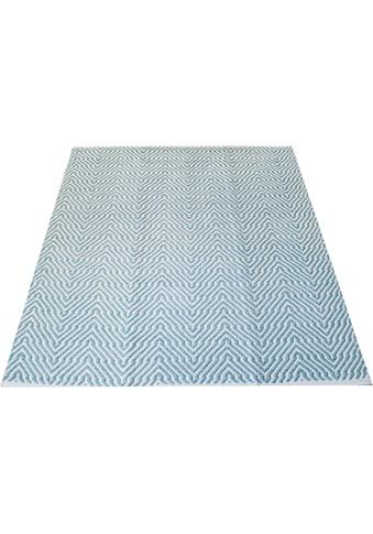 andas Teppich »Hanno«, rechteckig, 7 mm Höhe, Wohnzimmer kaufen