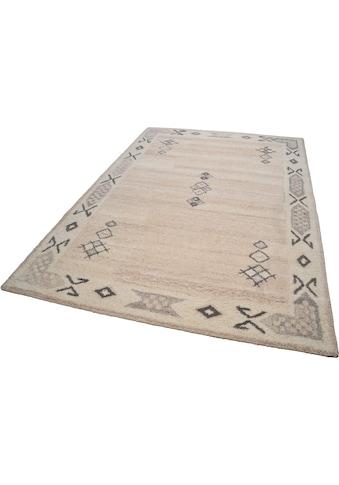 Wollteppich, »Royal Berber«, THEKO, rechteckig, Höhe 18 mm, handgetuftet kaufen