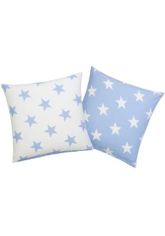 Lüttenhütt Kissenhüllen »Stella«, (2 St., 2x 50x50cm), mit niedlichen Sternen kaufen